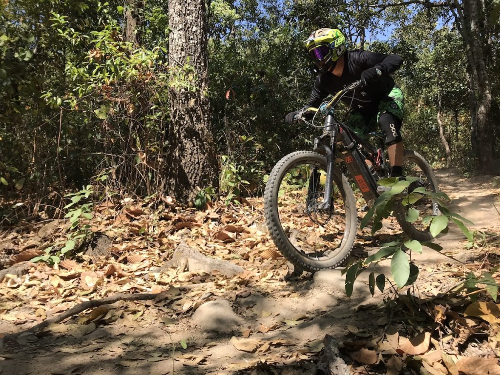 The electric mountain bike is fast gaining its way into mountain bike lifestyle - epic rides and race formats. Is it really the easy way out of real cycling? Or are we opening up to to more options? Our Chiang Mai representative shares her views.