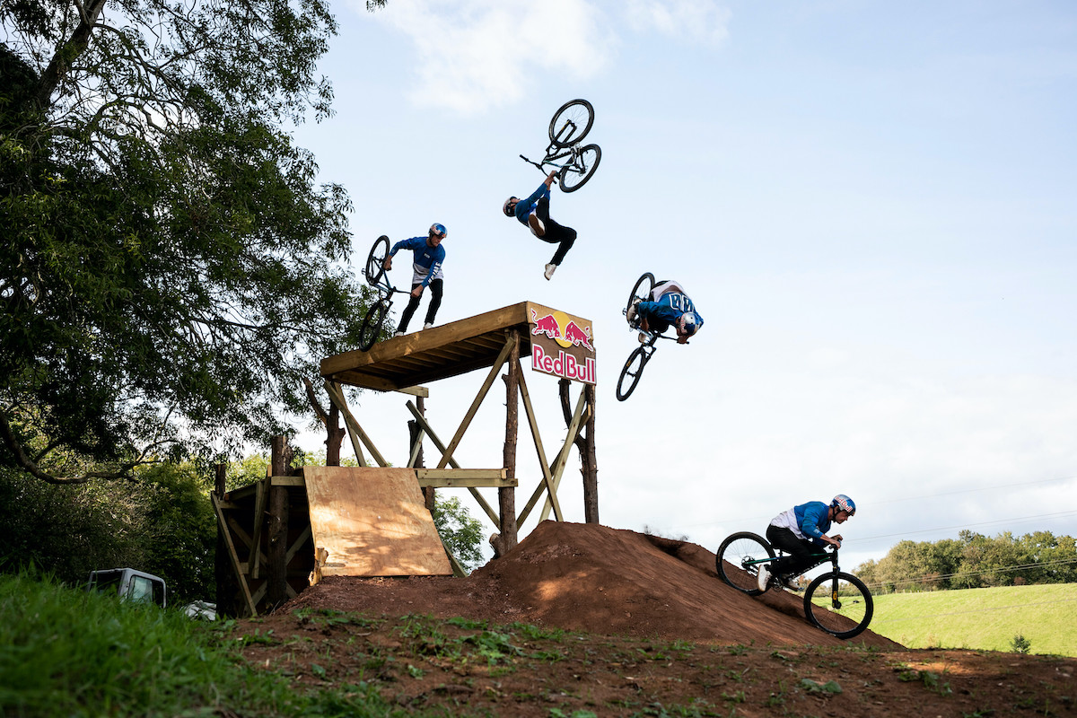 British slopestyle rider Matt Jones has attempted to tear up the mountain bike rulebook in his first Red Bull TV Series Design & Conquer.