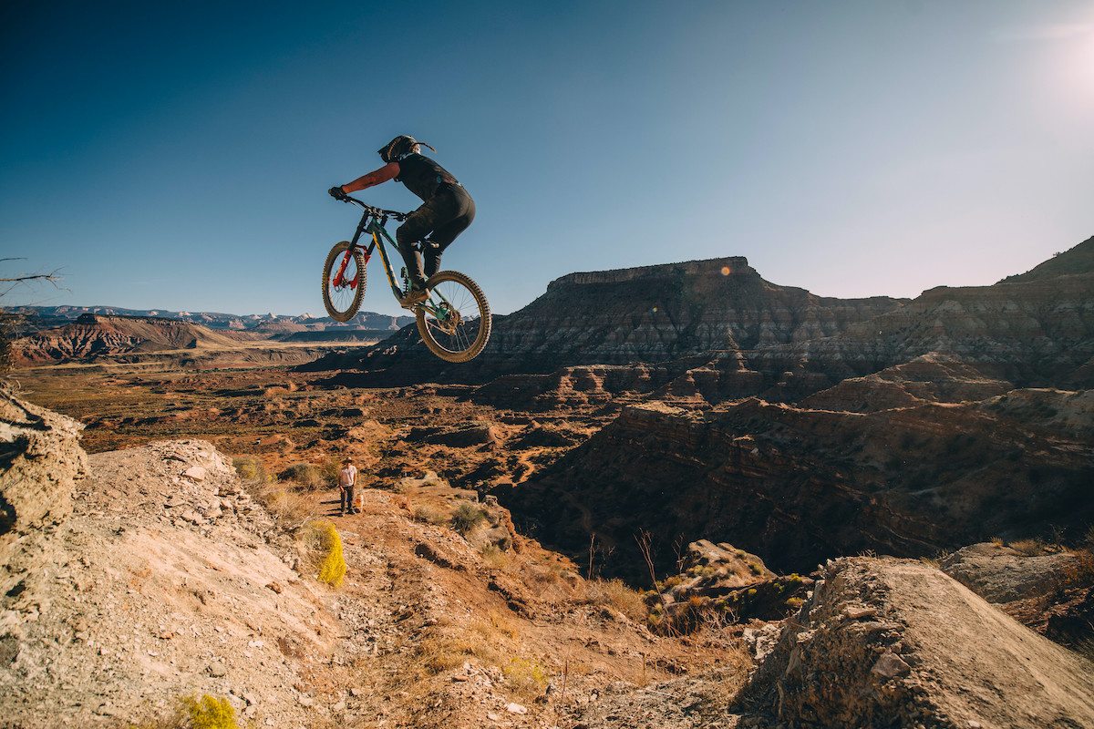 Hannah Bergemann is laying a path for the next generation of female freeriding talent in the world of mountain biking. Bikezilla.